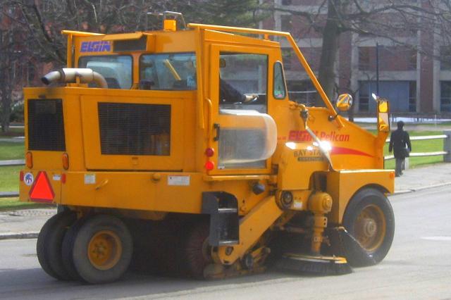 Sweep Truck